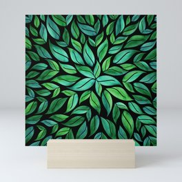 Night Leaves Mini Art Print