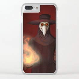 The Plague Doctor Clear iPhone Case