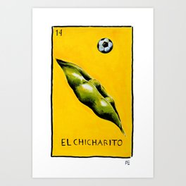 El Chicharito Art Print