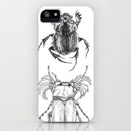 Scarabs iPhone Case