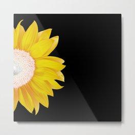 yellow & black summer Metal Print