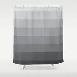 Fifty Shades Of Grey as Color Shower Curtain