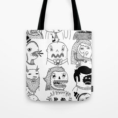 Monster Meet Up Tote Bag