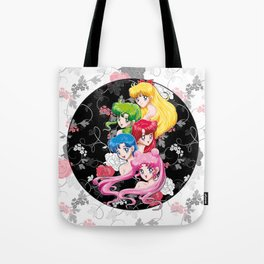 Sailor Senshi - Uncovered (Original Color Edition) Tote Bag