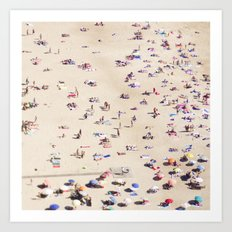 Beach Love VI Art Print