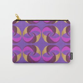 Gold And Purple Rings Carry-All Pouch