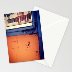 Lizard in Puerto Rico Stationery Cards