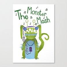 The Monster Mash Canvas Print
