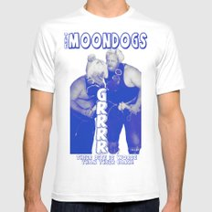 Legendary Memphis Tag Team - The Moondogs Mens Fitted Tee SMALL White