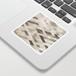 Abstract Pattern in Subtle Sticker