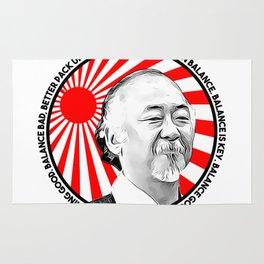 """Mr Miyagi said: """"Better learn balance. Balance is key. Balance good, karate good. Everything good."""" Rug"""