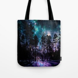 One Magical Night... teal & purple Tote Bag