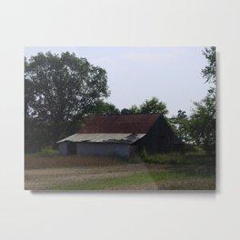 Barn Collection 4 Metal Print