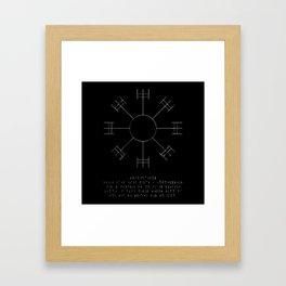 Dream Stave Framed Art Print