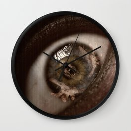 Only Through My Eyes Wall Clock