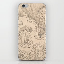 Wave by Katsushika Hokusai 1760–1849, Japanese iPhone Skin
