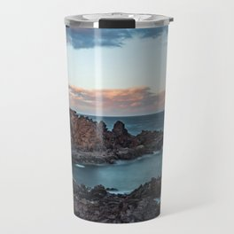 Arico Lighthouse with Long Exposure. Travel Mug
