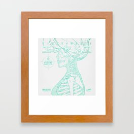 Sketch-Electro-B Framed Art Print