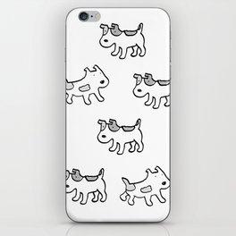 woofwoof dog meeting iPhone Skin