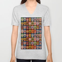 Complete Collection of FIFA 2014 Samba Girls Series Unisex V-Neck