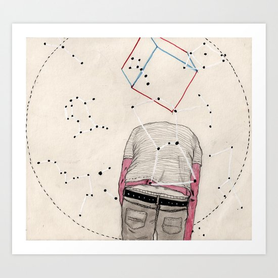 CD Illustration: Universo 2 Art Print