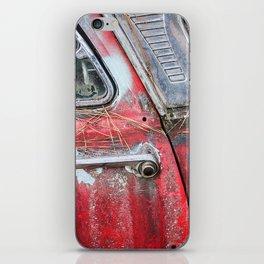 American Classic Car Doorhandle iPhone Skin