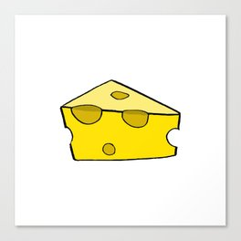 CHEESE FOR SMILE Canvas Print