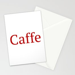 Caffe - Deep Learning Framework Stationery Cards