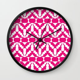 Radish Pop Art Wall Clock