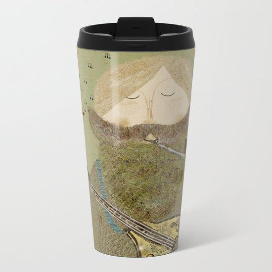 mornings song Metal Travel Mug
