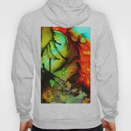Abstract Bugs Hoody