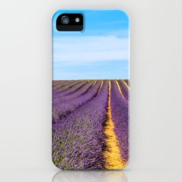 Lavender of Provence iPhone Case