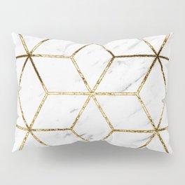 Gatsby golden marble Pillow Sham