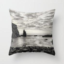Port Coon Throw Pillow