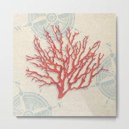 Ted Broome - Ocean Gift IV Metal Print