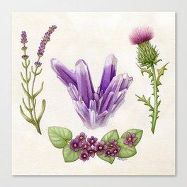 Naturally Ultra Violet Canvas Print