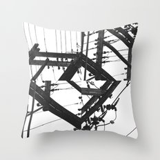 The Power of a Spiral Throw Pillow