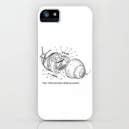 BRAKING SYSTEM iPhone Case