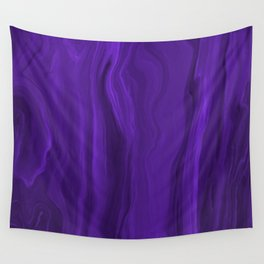 Marblesque Purple 1 - Abstract Art Marble Series Wall Tapestry