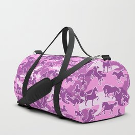 Horse Camo PINK Duffle Bag