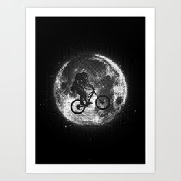 E.T.B. (monochrome series) Art Print