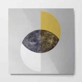 Crescents  Metal Print