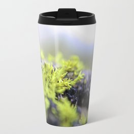 Mossy thoughts Metal Travel Mug