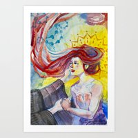 Fare Well  Art Print