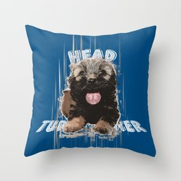 The Headturner Throw Pillow