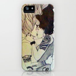 I Kissed A Girl iPhone Case