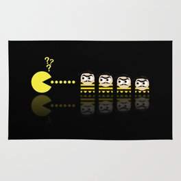 Pacman with Dalton Ghosts Rug