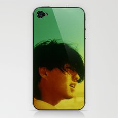 Asian Green and Yellow iPhone & iPod Skin