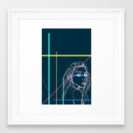 Quicky! Framed Art Print