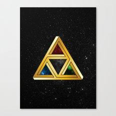 The Tri[llusion] Force Canvas Print